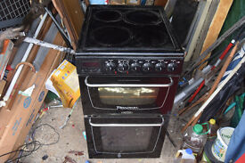 50cm electric cooker black needs a clean so £20 CB1 collect