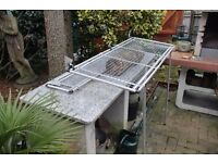 Greenhouse staging and shelf - foldaway - excellent quality