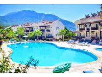 SUPERB HOLIDAY APARTMENT, 2 BEDROOMS SLEEPS 6, OLUDENIZ TURKEY