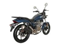 NEW ZONTES MANTIS 125CC, OWN FOR £7.52 PER WEEK,