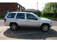 Jeep Grand Cherokee,low mileage,trailer included.Good condition MOT til Feb 2018