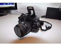 A cheap Konica/Minolta 7D DSLR camera set