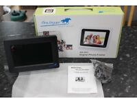 Digital Photo Frame, New Unused And Boxed, Great Stocking Filler