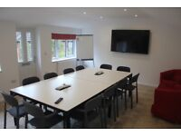The Head Shed is a 12 seat meeting room for hire, with or without catering, for whole or part days