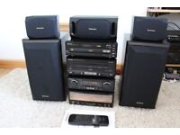 TECHNICS SC- CA10 CLASS A STEREO SYSTEM WITH REMOTE-Superb Sound. VGC Like NEW