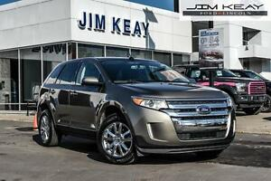 2014 Ford Edge SEL FWD W/LEATHER, NAVIGATION & POWER MOONROOF