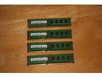 Samsung 2GB PC3 10600U DIMM 240 Pin RAM