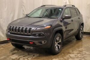 2017 Jeep Cherokee Trailhawk V6 Leather Plus