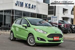 2014 Ford Fiesta Titanium Hatchback W/AUTO, LEATHER, NAVIGATION