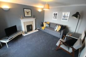 Three bedroom furnished house to rent from £45 per night based on four sharing