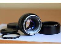 CARL ZEISS 50mm F/1.4 ZE Planar LENS