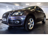 2010 10 AUDI Q5 3.0 TDI QUATTRO S LINE 5D AUTO DIESEL *PART EX WELCOME*FINANCE AVAILABLE*WARRANTY*