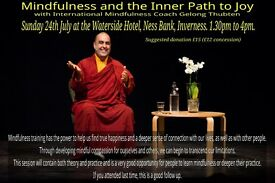 AN AFTERNOON OF MINDFULNESS INSTRUCTION WITH WORLD EXPERT
