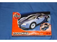 Lego Compatible Airfix Quick Build Veyron