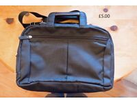 Black Laptop & Document Bag