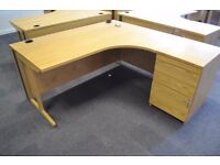 Solid Wood Office Desk - High Quality Office Furniture
