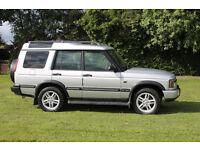 Land Rover Discovery Td5 Silver 2003 Superb Example FSH Mot April 2017