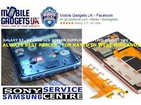 Any Samsung Sony LCD Repair Replacement Service Top Rated in Birmingham Galaxy S3 S4 S6 Xperia Z3 Z1