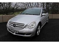 07 MERCEDED R320 CDI LWB SPORT 4WD AUTOMATIC ++ 6 SEATER ++ ++ HEATED LEATHER , SAT NAV & XENONS ++