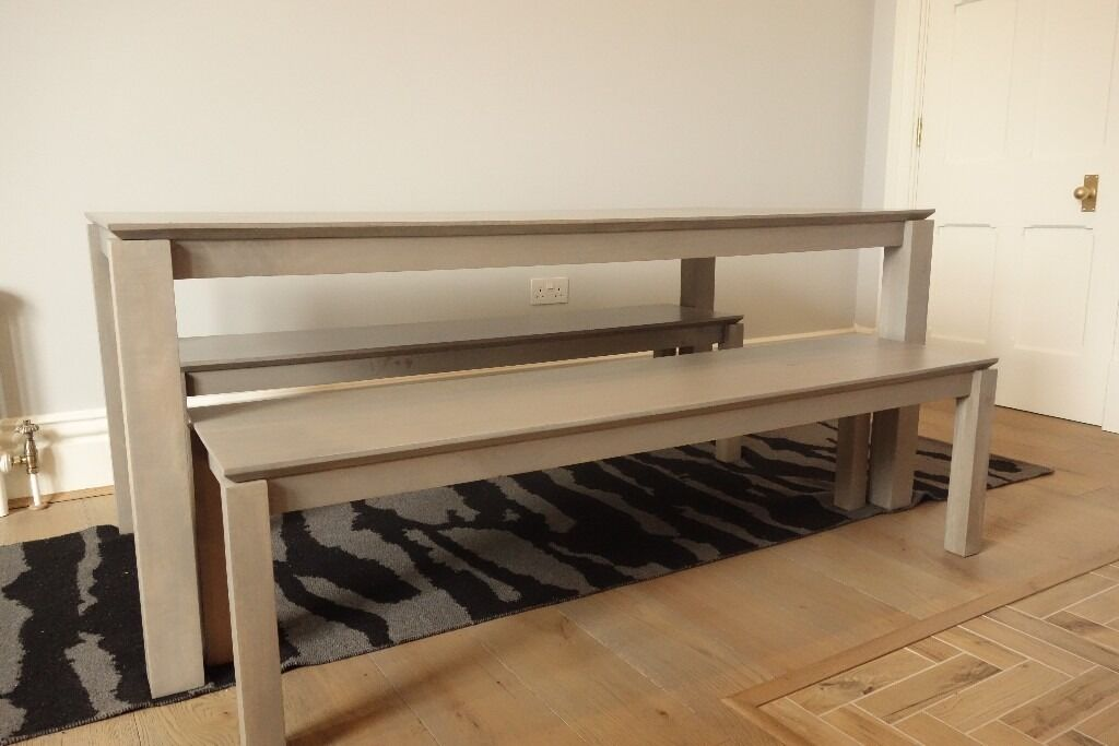 John Lewis Asha Dining Table amp Benches 6 8 Seater in  : 86 from www.gumtree.com size 1024 x 683 jpeg 64kB