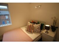 ALPINE STREET-READING- BRIGHT & SPACIOUS NEWLY REFURBISHED DOUBLE ROOM EN-SUITE