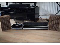 BANG OLUFSEN BEOMASTER 2000 170W/BUSH 2 SPEED MINI RECORD PLAYER