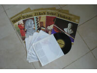 The Great Musicians Books and Records. Mozart, Brahms, Bach, Berlioz and Tchaikovsky