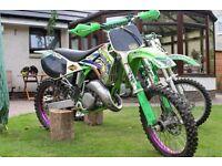 Kx125 2000 Project Bike