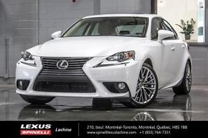 2014 Lexus IS 250 GRP LUXE AWD; CUIR TOIT GPS FULLY EQUIPPED - L