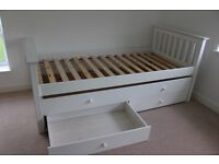 Single Cabin Bed and Trundle and Underbed Storage
