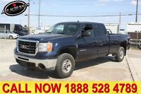 2010 GMC SIERRA 2500HD SLE 4x4 Crew Cab 8 FT Long Box