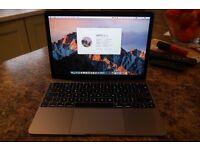 "Macbook 12"" Retina Space Grey 2016"