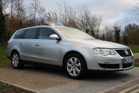 2007 Volkswagen Passat 2.0 TDI SE DSG ESTATE, AUTO, 1 OWNER, 2 KEYS, FSH, PX WELCOME, 3M WARRANTY
