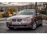 BMW 530d - beige leather - 218ps - 12M MOT