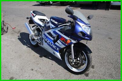 (C) 2003 Suzuki GSX-R600 Motorcycle NO RESERVE