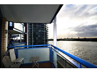 stunning contemporary 2 double bedroom duplex apartment set by the riverside