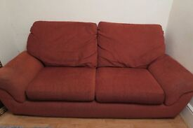 2 Sofas, good condition £120 for both!