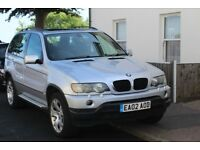 BMW X5 3.0 Diesel 2002 Great Condition FULL MOT Black Leather