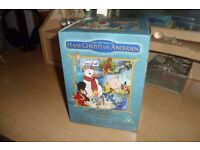 Rare Box Set of 10 x Hans Christian Andersen DVDs - Fairy Tales / Cartoons