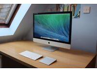 Apple iMac Core i7 3.5GHz, 16GB RAM, 1TB HDD, 27'' LED Back-lit Display, Office, Adobe Master Collec