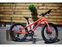 Kid's Orbea 20 inch wheel disc brake bike