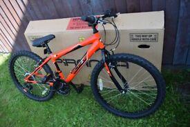 Piranha Blaze 24 inch Wheel Size Kids Mountain Bike