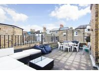 Perfect For Sharers! Superb 3 Double Bed Flat - Roof Terrace - Moments From Parsons Green Station!