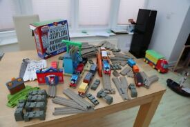 Trackmaster Sets - Excellent Condition and 4 trains; bridges, carriages... loads more...
