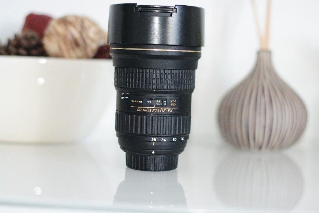 Tokina 16-28 f/2.8 Lenes for Nikon Camera Full Frame | in Luton ...