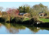 Holiday Homes for Sale in the heart of the Suffolk countryside, over look fishing lakes
