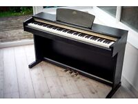 Yamaha Arius YDP161 Digital Full Size Piano 88key GH weighted keyboard BLACK Delivery Mint condition