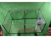 opti white fish tank 137 liters for sale