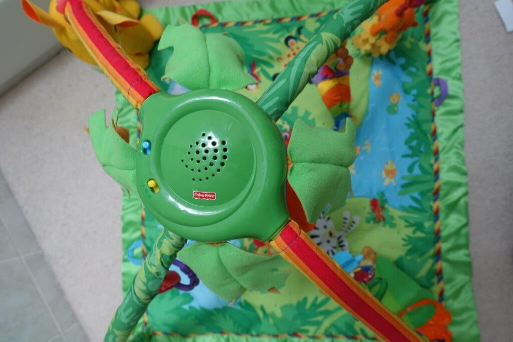 Fisher Price Rainforest Gymin Ascot, BerkshireGumtree - Fisher Price Rainforest Gym In Excellent Condition From Pet Free and Smoke Free Home. Cash On Collection Please