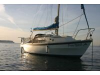 WESTERLY CENTAUR , 26FT SAILING BOAT